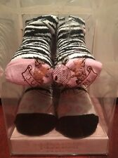 NIB Juicy Couture Baby Girl 2 Pack Socks 0-6 Months #80B89007 $42 NOW 60%OFF