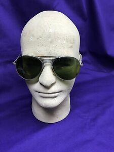 Vintage-Aviator-Style-Sun-Glasses-Unknown-Manufacturer-Military-Grade-Retro-Cool