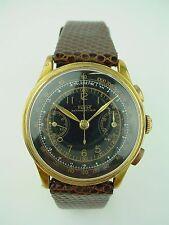 VINTAGE TISSOT CHRONOGRAPH TELEMETRE ANTIMAGNETIQUE 1930s Black Dial Watch