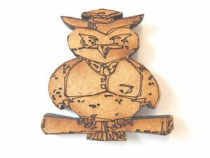 image is loading 10x wooden graduation owl shapes gift craft card