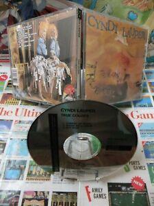 CD-Audio-Cyndi-Lauper-True-Colors-Pop-1986-CBS-Inc-First-Press