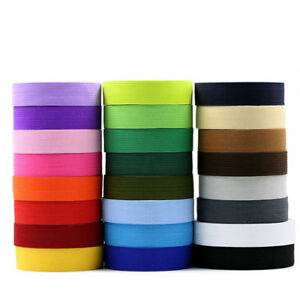 2cm-Flat-Elastic-Bands-Stretch-Waistband-Thick-Rubber-Band-Crafts-Sewing-Trouser
