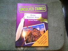 UNSOLVED CRIMES Slime Number Nine  Detective Role Play boys & girls Hamlyn