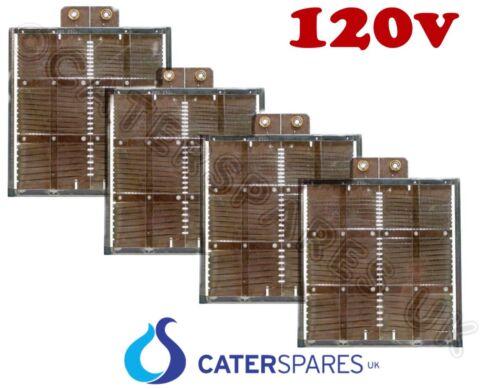 4 Dualit 3 slot USA120V modello vecchio stile elemento riscaldante Centro Set 2 x 2 x fine