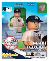 Mark Teixeira Oyo York Yankees Mlb Mini Figure G4