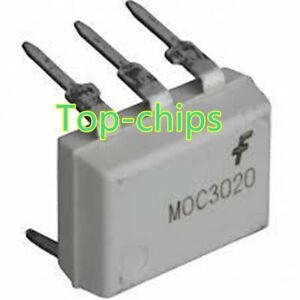 10Pcs-MOC3020-DIP-6-FSC-DIP6-Optoisolators-Transistor-Output-NEW-GOOD-QUALITY-D4