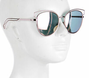 c17878cb7ef Image is loading CHRISTIAN-DIOR-Sideral-2-Rose-Gold-Sunglasses-Pre-