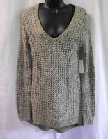Bobbie Brooks Sweater Size L Multicolor 100% Acrylic Long Sleeves Open Cable