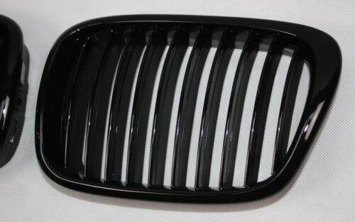 Parrilla Deportiva parrilla barbacoa Front calandra bmw e39 5er negro brillo Black glossy