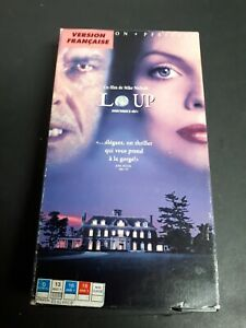 Wolf-Loup-1994-VHS-French-Version-Thriller-Comedy