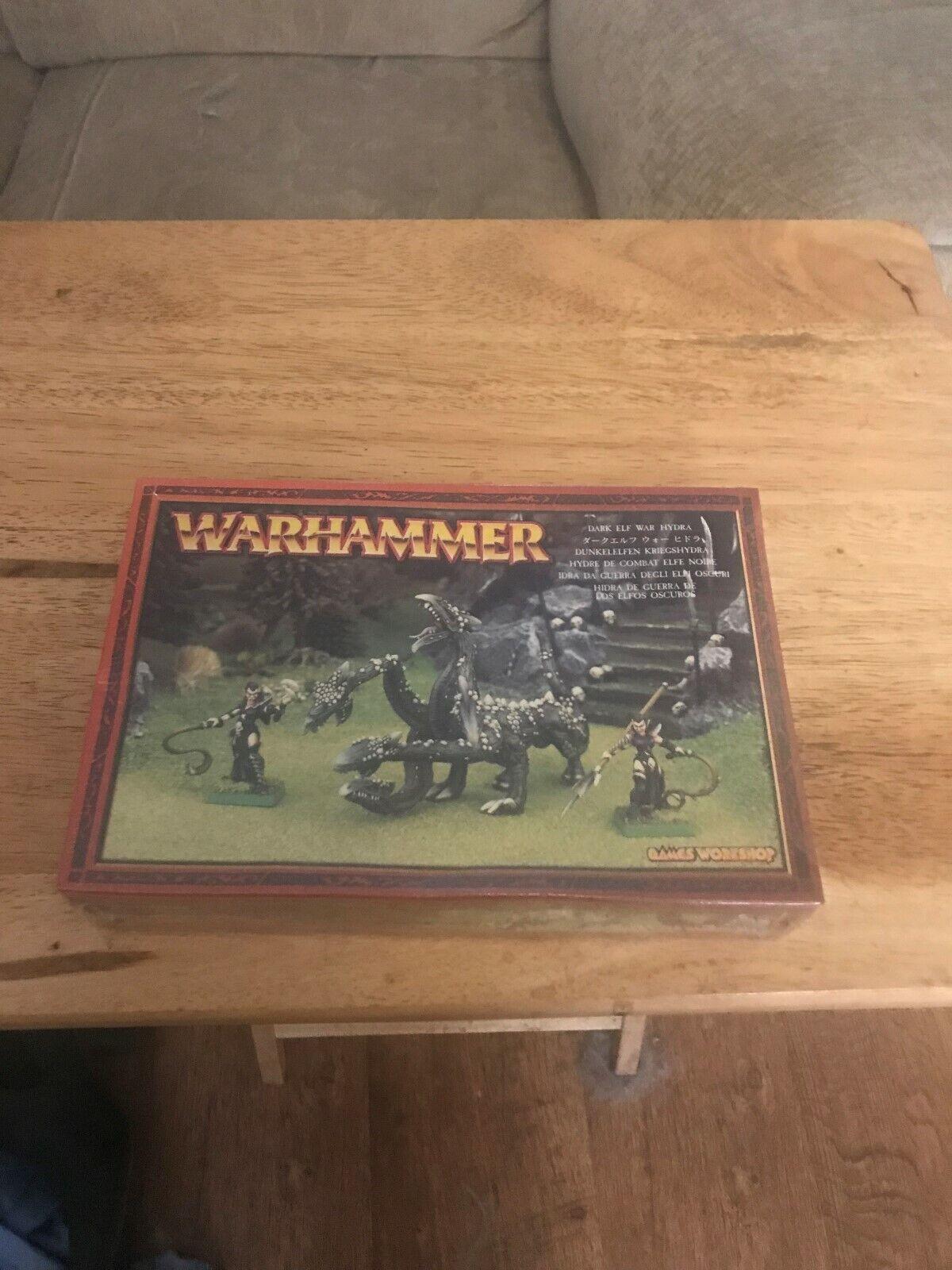Warhammer Dark Elf War Hydra Metal