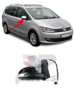 Para-Seat-Alhambra-VW-Sharan-10-15-Ala-Espejo-electrico-climatizada-6-Pin-Correcto-LHD