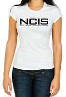 NCIS Woman Top High Qualtiy T Shirt 3/4 Sleeve Cotton Crew Neck