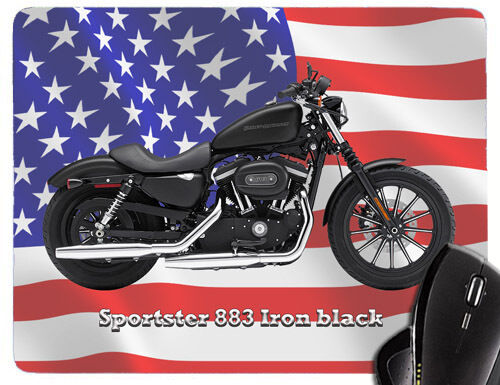 Mauspad mit Motorrad Motiv Harley Davidson Modelle Mousepad HD Biker Teil 2//2