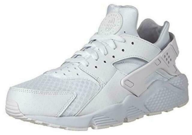 2015 Nike Air Huarache Men's Size 8 Low White/pure Platinum Running Shoes