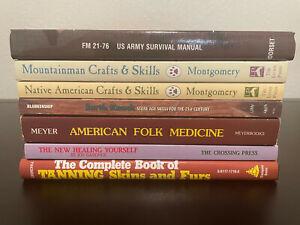 Book lot Survival Prepper Homesteading DIY Natural Living books