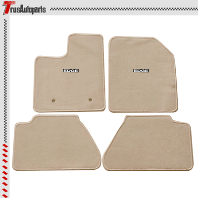 Nylon Fits 07-13 Ford Edge Floor Mats Carpet Front /& Rear Gray 4PC
