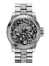 Harley-Davidson  Women's Bulova Rose Faced Wrist Watch 78L115