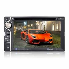 """6.2"""" HD Double 2 Din In Dash Touch Car Stereo DVD Player Radio FM MP4 MP5"""