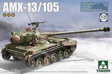 Char léger Français AMX-13/105 - Kit TAKOM 1/35 Réf. 2062