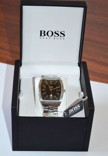 Hugo Boss Black Dial Stainless Steel Case Men's WatchHB1512188