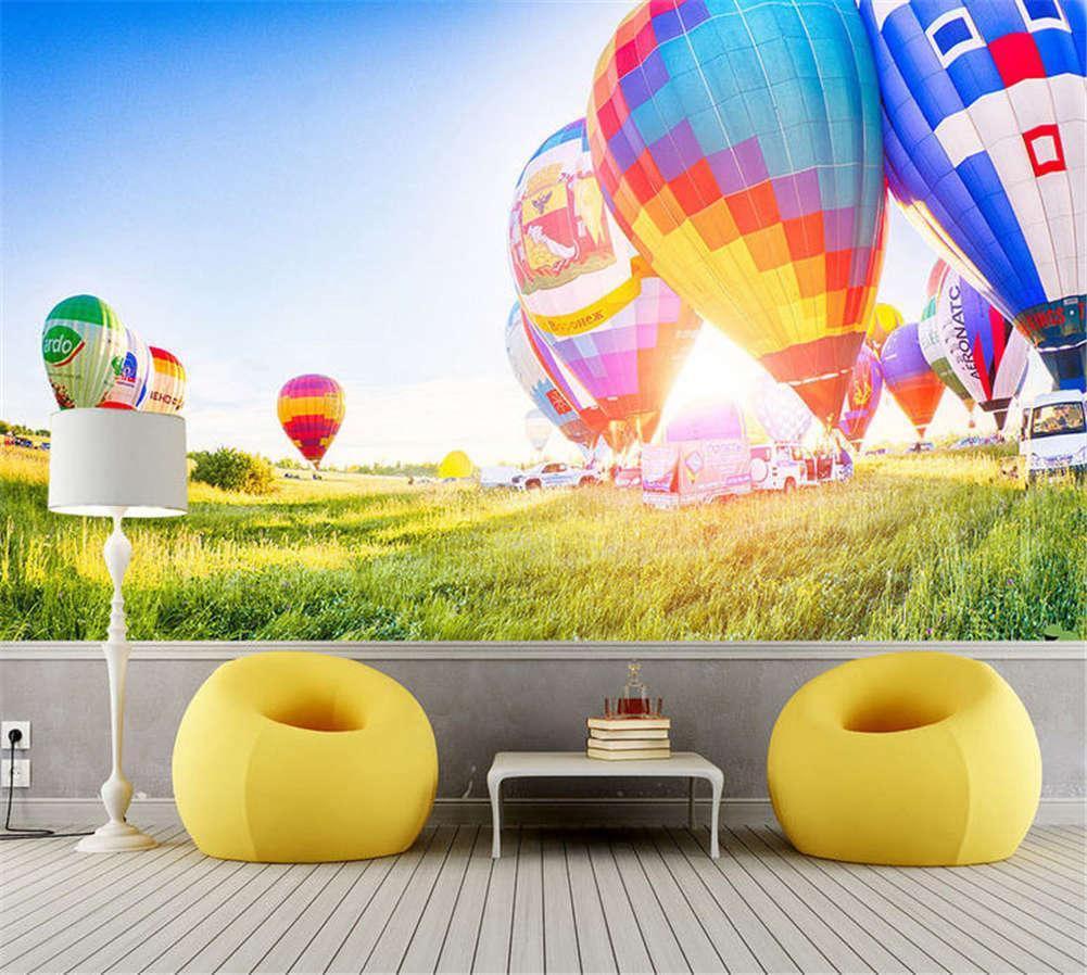 Vibrant Cute Kites 3D Full Wall Mural Photo Wallpaper Printing Home Kids Decor