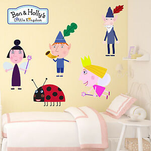 Ben-and-Holly-little-kingdom-Kids-Boys-Girls-Bedroom-Wall-Decal-Art-Sticker-New