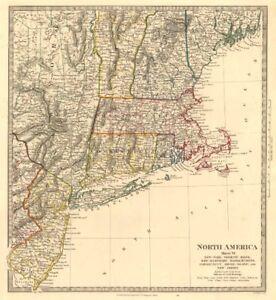 USA. New York Maine Massachusetts Connecticut New Jersey NH RI VT ...