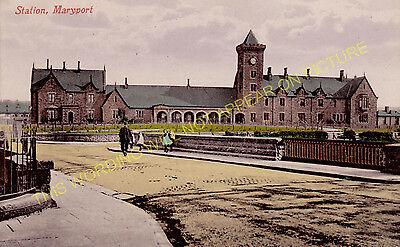 Leegate Aspatria 2 Maryport /& Carlisle Rly. Brayton Railway Station Photo