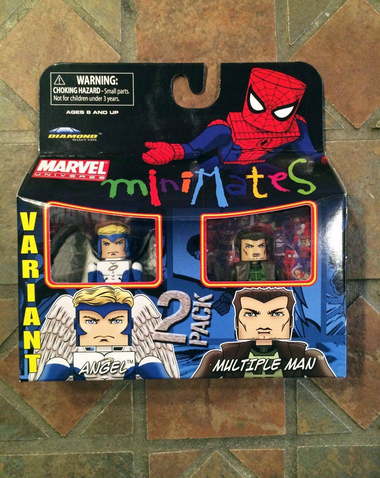 Marvel Minimates ANGEL & JAMIE MADROX MULTIPLE MAN Wave 31 X-Factor X-Men