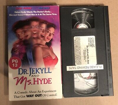 Dr. Jekyll and Ms. Hyde (VHS, 1996) Sean Young Tim Daly ...