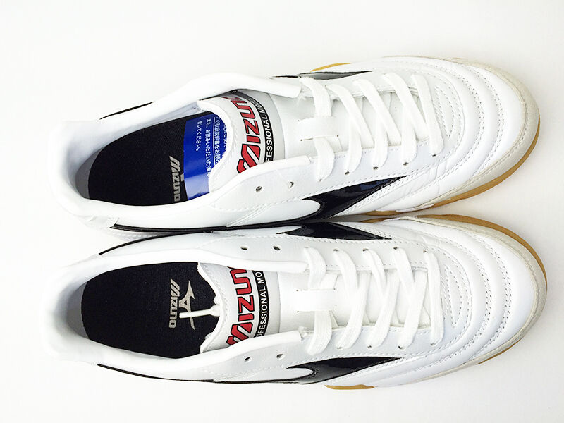 Mizuno JAPAN Schuhes MORELIA IN Weiß Soccer Futsal Indoor Football Schuhes JAPAN 12KF350 f44e25