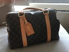 100% Authentic Louis Vuitton monogram Carryall Travel Bag - Retail $1730