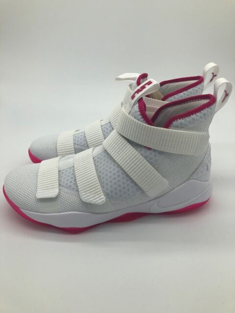 29346c4331d5 Frequently bought together. Nike Men s Sz 10.5 Lebron Soldier XI 11 Kay Yow  White Vivid Pink 897644-102