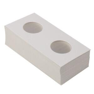 100pcs-Cardboard-Coin-Holders-Flips-Mylar-Coin-Organizer-Tools-35mm