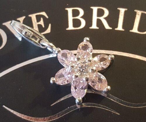 Thomas Sabo cristal flor charm remolque pendant