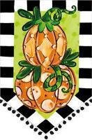Tom's Pumpkin Topiary Fall Garden Flag Holiday Autumn Decorative 12.5 X 18