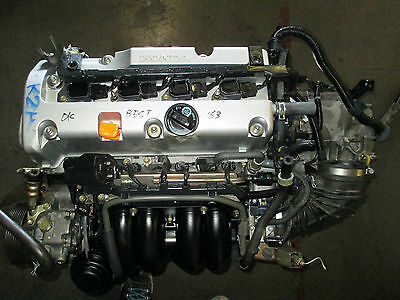 Honda CRV Acura TSX JDM K24A 2.4L i-Vtec DOHC Engine K24 Motor Long Block Used