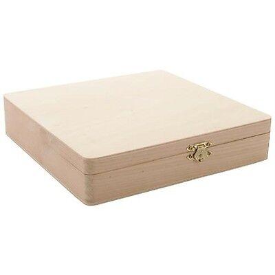 Darice Unfinished Cigar Box - 261442