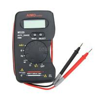 M320 Digital Multimeter Dmm Frequency Capacitance Meter Auto Range Us Stock U30r
