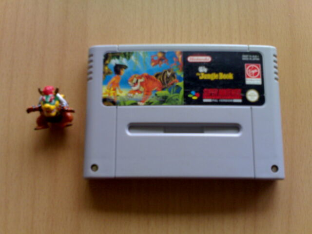 ► EL LIBRO DE LA SELVA - THE JUNGLE BOOK Super Nintendo Snes PAL ★★★★★★ MUY RARO