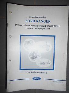 Ford ESCORT 91 documentation atelier présentation nouveau produit CG7323