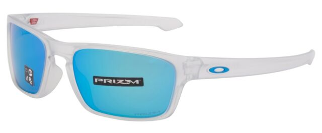 Oakley Sunglasses Sliver Stealth Prizm Matte Clear Frame W/ Sapphire ...