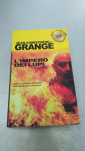 L'IMPERO DEI LUPI, Jean-Christophe Grangé, SuperPocket 2010 tascabile
