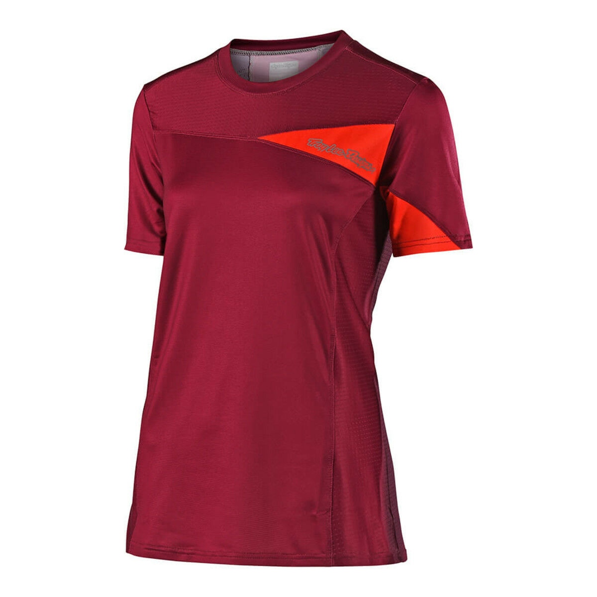 NEW 2018 Troy Lee Designs Bike Skyline SS Jersey Burgundy (RED) Womens SMALL