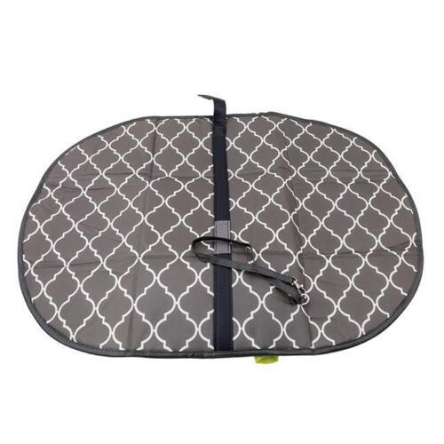 Folding Portable Baby Diaper Pad Changing Mat Nappy Mat Bag W//Storage Pocket QL
