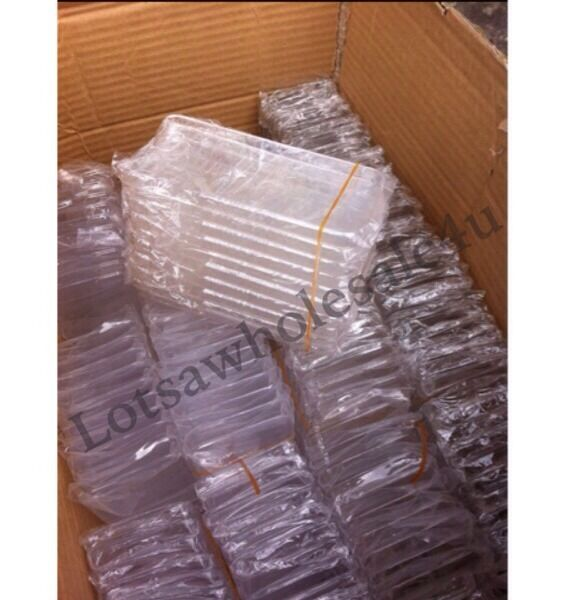 10 x WHOLESALE CRYSTAL CLEAR TRANSPARENT CASE FOR iPHONE 5/5s