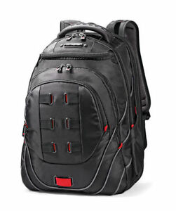 Samsonite-Tectonic-PFT-17-034-Backpack-Black-Red-Laptop-Backpack-NEW-51531