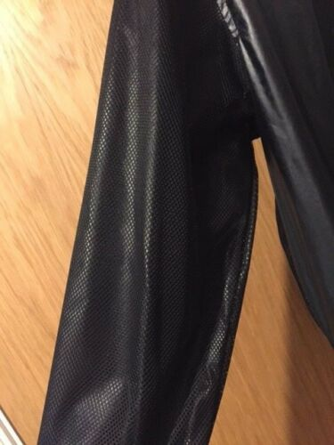 Versace Bomber nero Jeans taglia 48 38 Uk in nylon it w4qa5xwr