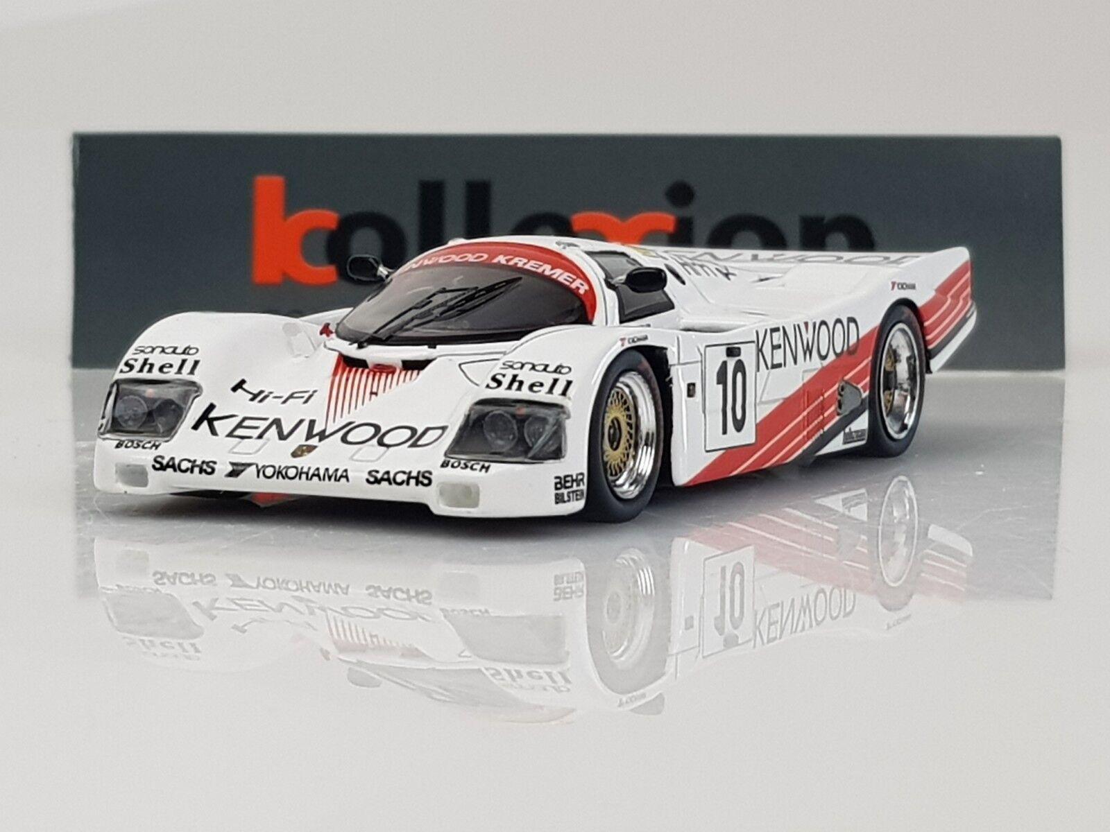 SPARK KBS024 PORSCHE 962 C Kenwood n°10 Le Mans 1987 1.43 NB